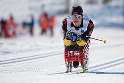 FLEIG Martin, GER, Middle Distance Cross Country, 2015 IPC Nordic and Biathlon World Cup Finals, Surnadal, Norway