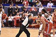 DESCRIZIONE : Milano Lega A 2014-15 <br /> EA7 Olimpia Milano - Acea Virtus Roma <br /> GIOCATORE : Samardo Samuels Ndudi Ebi<br /> CATEGORIA : palla a due pre game pregame arbitro<br /> SQUADRA : EA7 Olimpia Milano<br /> EVENTO : Campionato Lega A 2014-2015 <br /> GARA : EA7 Olimpia Milano - Acea Virtus Roma<br /> DATA : 12/04/2015<br /> SPORT : Pallacanestro <br /> AUTORE : Agenzia Ciamillo-Castoria/GiulioCiamillo<br /> Galleria : Lega Basket A 2014-2015  <br /> Fotonotizia : Milano Lega A 2014-15 EA7 Olimpia Milano - Acea Virtus Roma