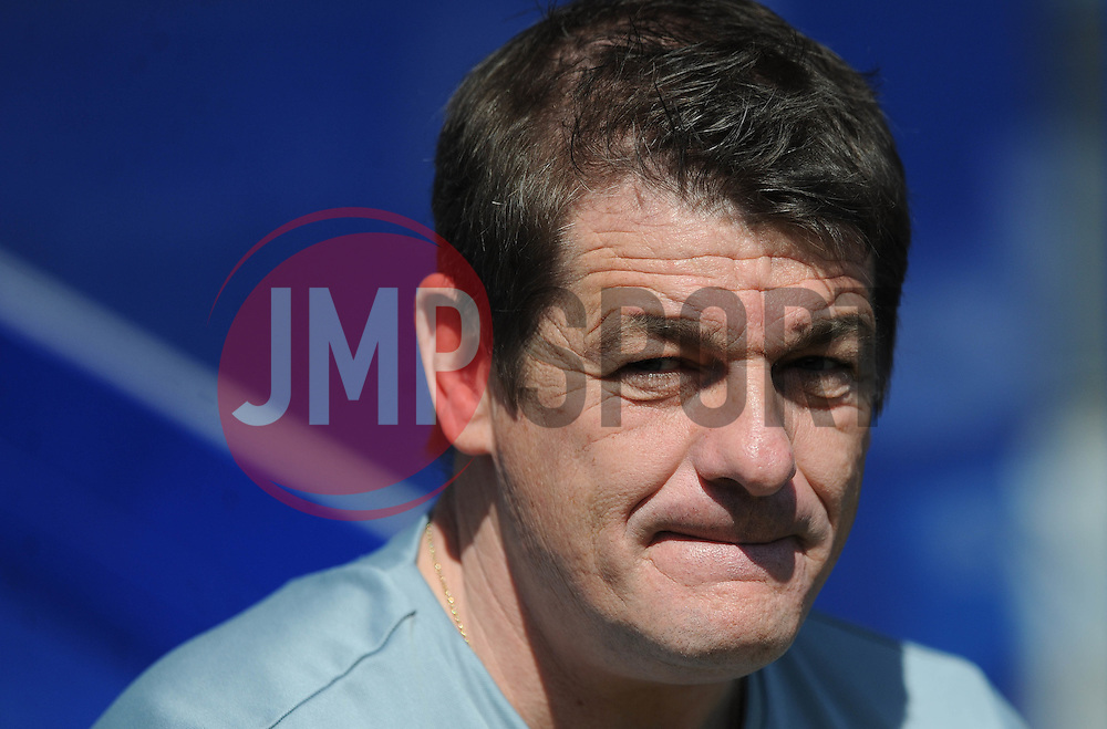 Newcastle United Manager, John Carver - Photo mandatory by-line: Dougie Allward/JMP - Mobile: 07966 386802 - 16/05/2015 - SPORT - football - London - Loftus Road - QPR v Newcastle United - Barclays Premier League