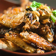 12/17/10 Wilmington DE: Coal Oven Roasted Chicken Wings served with grilled onions &amp; foccacia bread only at Anthony's Coal Fired Pizzas in Wilmington Delaware.<br /> <br /> Special to The News Journal/SAQUAN STIMPSON