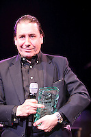 Jools Holland at the 2011 MITs Award. Held at the Grosvenor Hotel London in aid of Nordoff Robbins and the BRIT School. Monday, Nov.7, 2011