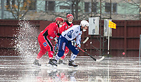 2018-11-11 | Jönköping, Sweden: During the game between Jönköping Bandy IF and Åtvidaberg BK at Råslätts IP ( Photo by: Marcus Vilson | Swe Press Photo )<br /> <br /> Keywords: Råslätts IP, Jönköping, Bandy, Div. 1 Södra, Jönköping Bandy IF, Åtvidaberg BK