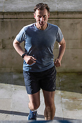 © Licensed to London News Pictures. 20/06/2019. London, UK. Foreign Secretary Jeremy Hunt returns to his London home after a run. Photo credit: Rob Pinney/LNP