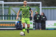 Forest Green Rovers Farrend Rawson(6) during the The FA Cup match between Forest Green Rovers and Carlisle United at the New Lawn, Forest Green, United Kingdom on 30 November 2019.