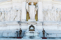 Tomb of the Unknown Soldier at Monumento Nazionale a Vittorio Emanuele II, Roma, Italy