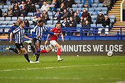 Bristol City FC vice captain Josh Brownhill on the attack during the EFL Sky Bet Championship match between Sheffield Wednesday and Bristol City at Hillsborough, Sheffield, England on 22 December 2019.
