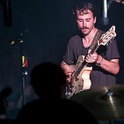 Portugal. The Man perform at The Wiltern Theatre on July 12, 2013 in Los Angeles, California.