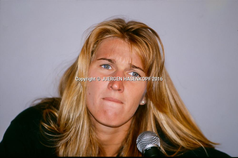 Steffi Graf (GER), Pressekonfernz, Roland Garros, French Open 1994<br /> <br /> Tennis - French Open 1994 - Grand Slam ATP / WTA -  Roland Garros - Paris -  - France  - 14 May 2016.