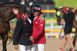 Skelton Nick, GBR, Lamaze Eric, CAN<br /> Olympic Games Rio 2016<br /> © Hippo Foto - Dirk Caremans<br /> 19/08/16