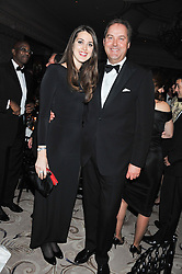 The HON.HARRY HERBERT and his daughter CHLOE HERBERT at the 22nd Cartier Racing Awards held at The Dorchester, Park Lane, London on 13th November 2012.
