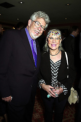 MR & MRS ROLF HARRIS, he is the Australia TV presenter, at a party in London on 18th September 2000.OHA 7
