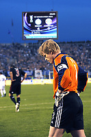Fotball<br /> UEFA Cup Semifinale<br /> 01.05.2008<br /> Zenit St. Petersburg v Bayern München<br /> Foto: imago/Digitalsport<br /> NORWAY ONLY<br /> <br /> Torwart Oliver Kahn (Bayern) enttäuschter Abgang