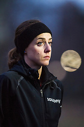 Molly Huddle, USA, pre-race,