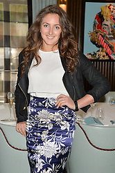 NATASHA CORRETT at the 'Ladies of Influence Lunch' held at Marcus, The Berkeley Hotel, London on 12th May 2014.