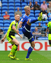 Lex Immers of Cardiff City tried to control the ball - Mandatory by-line: Nizaam Jones/JMP - 27/08/2016 -  FOOTBALL - Cardiff City Stadium - Cardiff, Wales -  Cardiff City v Reading - Sky Bet Championship