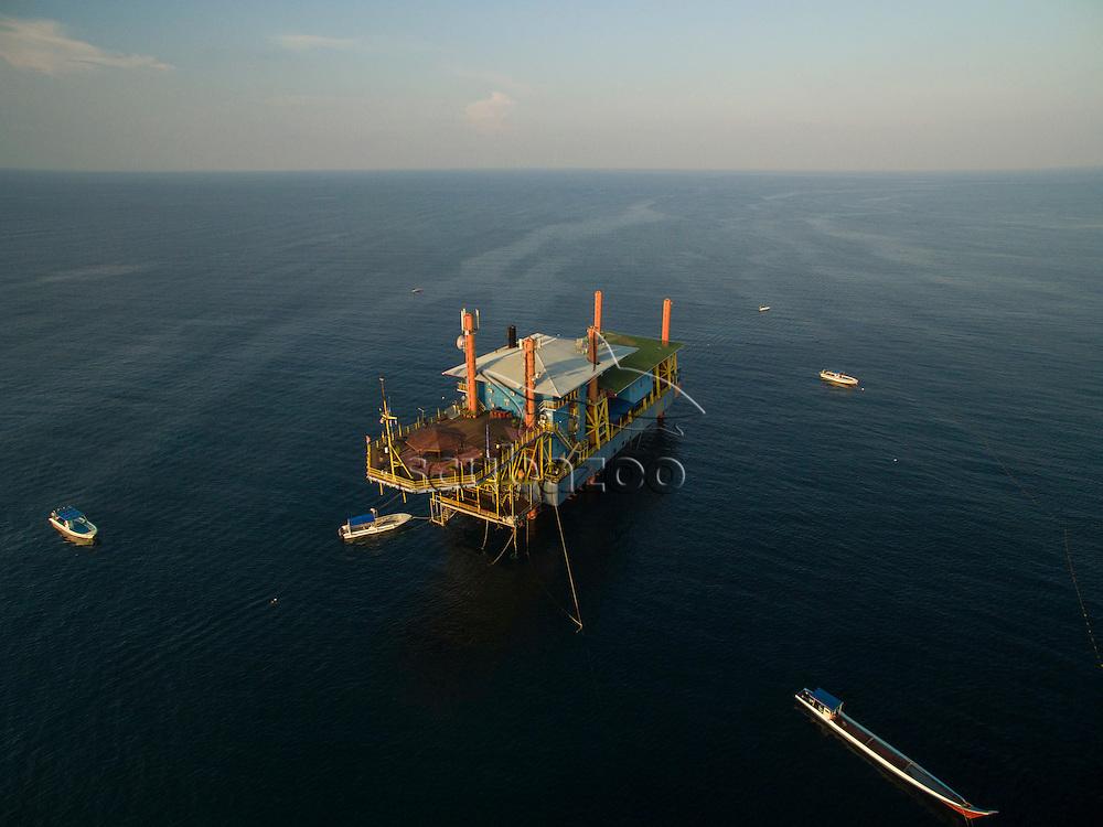 Seaventures Dive Rig, Mabul, Sabah, Malaysia, Borneo, Celebes Sea,
