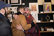 EDWARD THOMASSON, JOSH ANDRAOS, MARK AMURA, Neo Naturist Christmas event , Studio Voltaire Gallery shop, Cork St.   20 November 2019