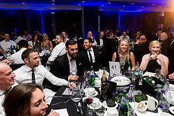 Marlon Pack and Korey Smith look on as Bristol Sport hosts their annual Gala Dinner at Ashton Gate Stadium - Rogan/JMP - 05/12/2018 - SPORT - Ashton Gate Stadium - Bristol, England - Bristol Sport Gala Dinner 2018.