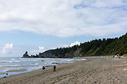 Shi Shi Beach, Olympic National Park, Washington, USA.