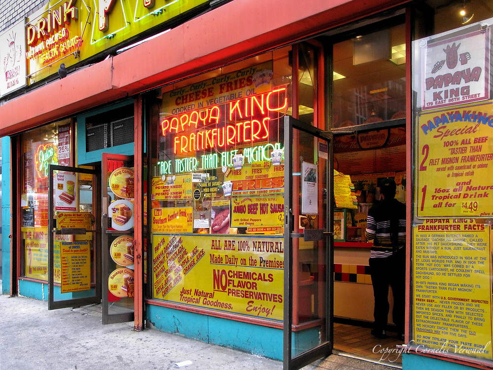 Papaya King on Third Avenue and 86th street