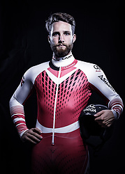 12.10.2019, Olympiahalle, Innsbruck, AUT, FIS Weltcup Ski Alpin, im Bild Marco Schwarz // during Outfitting of the Ski Austria Winter Collection and the official Austrian Ski Federation 2019/ 2020 Portrait Session at the Olympiahalle in Innsbruck, Austria on 2019/10/12. EXPA Pictures © 2020, PhotoCredit: EXPA/ JFK
