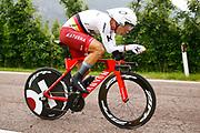 Tony Martin (GER - Team Katusha - Alpecin) during the 101th Tour of Italy, Giro d'Italia 2018, stage 16, Trento - Rovereto 34.5 km on May 22, 2018 in Italy - Photo Luca Bettini / BettiniPhoto / ProSportsImages / DPPI