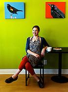 Adria Clark of Blackbird Baking Co. for Lakewood Magazine