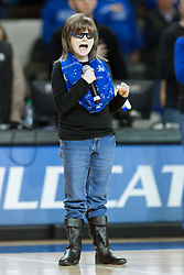 Marlana Van Hoose sung the National Anthem before the game.<br /> <br /> The University of Kentucky hosted the University of Tennessee, Monday, Jan. 25, 2016 at Memorial Coliseum in Lexington .