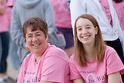 Mom's Weekend Walk for a Cure....Megan & Carolyn Ethridge