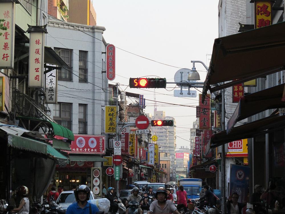 Shopping street in Taiwan. Photo: Tuuli Sauren / Inspirit International Communications