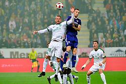 football match between NK Maribor and NK Olimpija Ljubljana in 14th Round of Prva liga Telekom Slovenije 2018/19, on October 27, 2018 in Ljudski vrt , Maribor, Slovenia. Photo by Mario Horvat / Sportida
