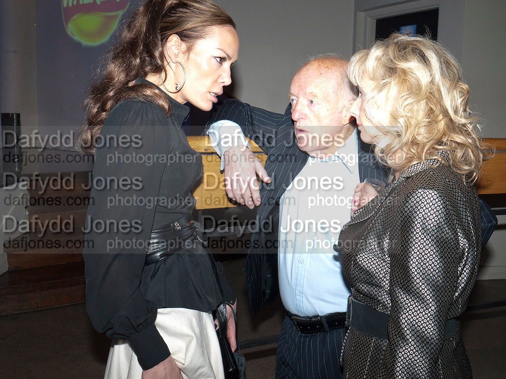 TARA PALMER-TOMPKINSON; PAUL DANIELS; DEBBIE MCGEE, Walkers party to launch 15 new flavours of crisps. Orchid, Coventry St. Leicester Sq. London.  29 March 2010