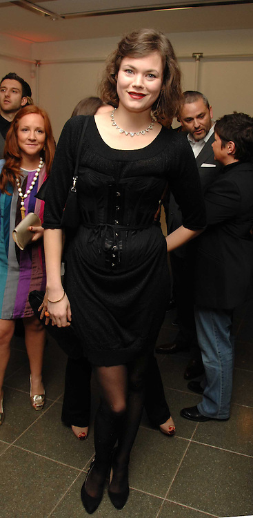 JASMINE GUINNESS at a party to celebrate the publication of Vivienne Westwood's Opus held at The Serpentine Gallery, Kensington Gardens, London W2 on 12th February 2008.<br /><br />NON EXCLUSIVE - WORLD RIGHTS