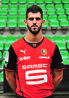Nelson OLIVEIRA - 19.09.2013 - Photo officielle - Rennes - Ligue 1<br /> Photo : Philippe Le Brech / Icon Sport
