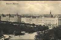 Zagreb = Agram. <br /> <br /> ImpresumS. l. : S. n., [1912].<br /> Materijalni opis1 razglednica : tisak ; 8,7 x 14 cm.<br /> Vrstavizualna građa • razglednice<br /> ZbirkaZbirka razglednica • Grafička zbirka NSK<br /> Formatimage/jpeg<br /> PredmetZagreb –– Trg Ante Starčevića<br /> SignaturaRZG-STAR-5<br /> Obuhvat(vremenski)20. stoljeće<br /> NapomenaRazglednica je putovala 1912. godine.<br /> PravaJavno dobro<br /> Identifikatori000953273<br /> NBN.HRNBN: urn:nbn:hr:238:998747 <br /> <br /> Izvor: Digitalne zbirke Nacionalne i sveučilišne knjižnice u Zagrebu
