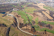 Aerial photograph of University Ridge Golf course, a part of the University of Wisconsin-Madison, Madison, Wisconsin, USA.
