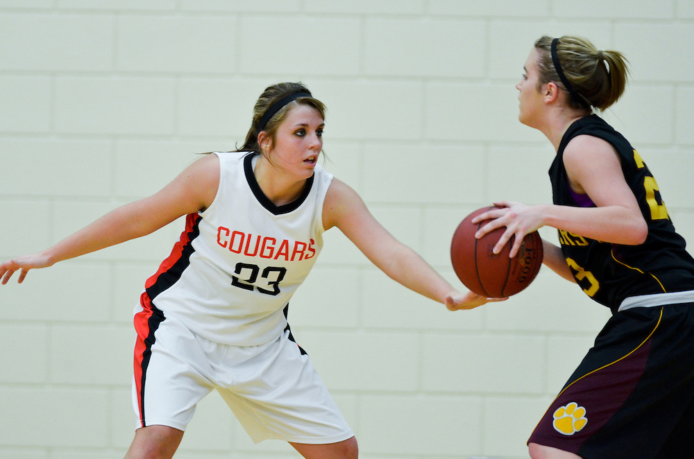 Images from the Ada-Borup vs. Parkers Prairie section championship basketball game.