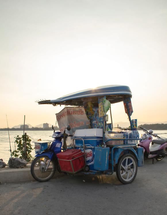 Cha Am Fishing pier, Cha Am, Thailand