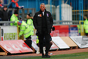 Carlisle United Manager Keith Curle during the Sky Bet League 2 match between Carlisle United and Northampton Town at Brunton Park, Carlisle, England on 5 March 2016. Photo by Craig McAllister.