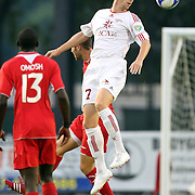 Richmond Kickers Forward Matthew Delicate (7) during the United Soccer League Pro American Division Championship soccer match between the Richmond Kickers and the Orlando City Lions at the Florida Citrus Bowl on August 27, 2011 in Orlando, Florida. Orlando won the match 3-0 to advance to the USL Pro Final.  (AP Photo/Alex Menendez)