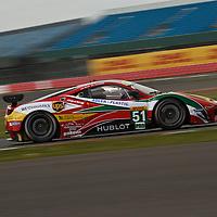 #51 Ferrari 458 Italia, AF Corse (drivers: Bruni, Vilander) GTE PRO at Silverstone 6h, 2014
