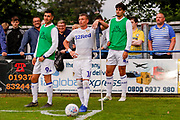 Leeds United Ezgjan Alioski (10)  during the Pre-Season Friendly match between Tadcaster Albion and Leeds United at i2i Stadium, Tadcaster, United Kingdom on 17 July 2019.