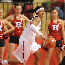 Jan 2, 2010; Piscataway, NJ, USA; Second half NCAA women's basketball action during Rutgers' 60-57 victory over DePaul at the Rutgers Louis Brown Athletic Center.