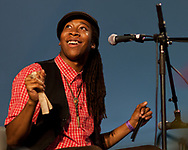 Hubby Jenkins with The Carolina Chocolate Drops Band at Sugar Grove Music Festival