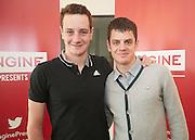 Alistair Brownlee and Jonny Brownlee