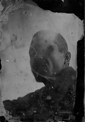 Tintype / Ambrotipo<br /> Deportato.<br /> Deported