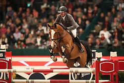 Weishaupt, Philipp (GER), Liberty Son<br /> Leipzig - Partner Pferd 2016<br /> Grosser Preis Sparkassen Leipzig und Longines Weltcup<br /> © www.sportfotos-lafrentz.de / Stefan Lafrentz