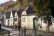 Romania, street in a village
