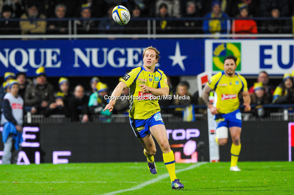 Nick Abendanon  - 20.12.2014 - Clermont / Castres - 13eme journee de Top 14 -<br /> Photo : Jean Paul Thomas / Icon Sport