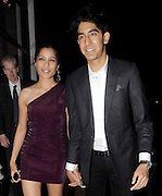 10.SEPTEMBER.2009 - LONDON<br /> <br /> SLUMDOG MILLIONAIRE ACTOR DEV PATEL AND ACTRESS FRIEDA PINTO ARRIVING AT ASPREYS JEWELLERY STORE IN MAYFAIR HAND IN HAND.<br /> <br /> BYLINE: BLOOMS/EDBIMAGEARCHIVE.COM<br /> <br /> *THIS IMAGE IS STRICTLY FOR UK NEWSPAPERS & MAGAZINES ONLY*<br /> *FOR WORLDWIDE SALES & WEB USE PLEASE CONTACT EDBIMAGEARCHIVE - 0208 954 5968*